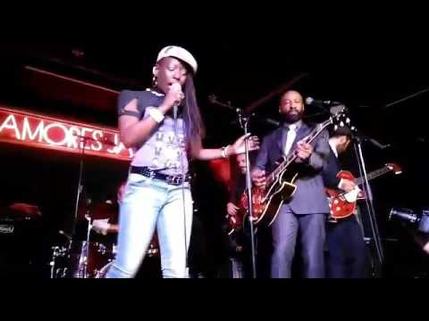 Binky Griptite and THE SILVERBACKS feat. Shirley Davis at Sala Clamores Madrid April 2017