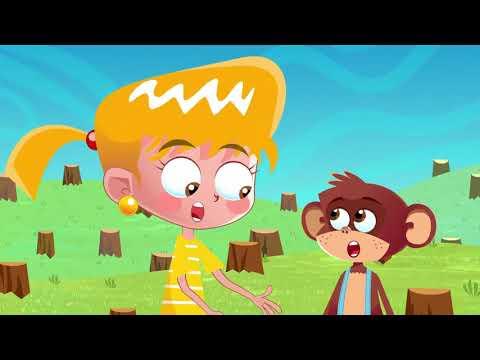 Cantec nou: Am o maimutica – cantece pentru copii Paradisul Vesel TV