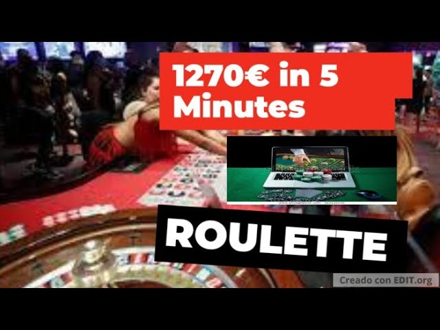 My best ROULETTE session in a Few Minutes 🔥 (GREAT VICTORY) 50€ A 1270€ ✅