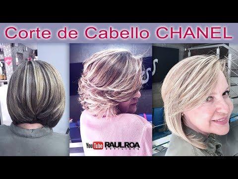 Corte de Cabello Chanel RAUL ROA ESTILISTA