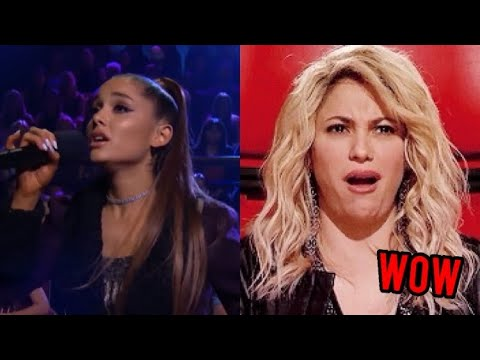 Ariana Grande covering other celebrities songs😨👑