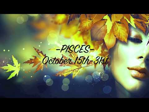 PISCES • Bi-Weekly Love Reading   Oct. 15th-31st
