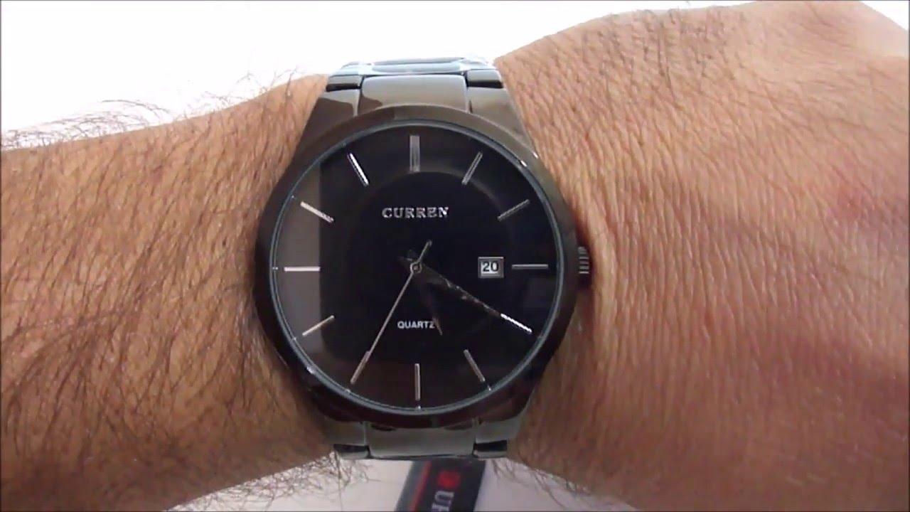 3e35eea21fa Relógio Masculino Curren - YouTube