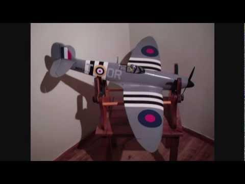Fibreglassing Foam  RC Plane ParkZone Spitfire MKIIb