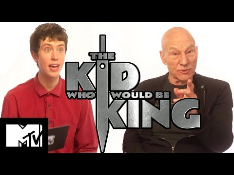 Patrick Stewart's Experience With Real Magic | The Kid Who Would Be King | MTV Movies