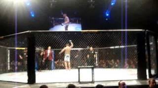 Thiago Silva entrando no octógono (UFC 108)