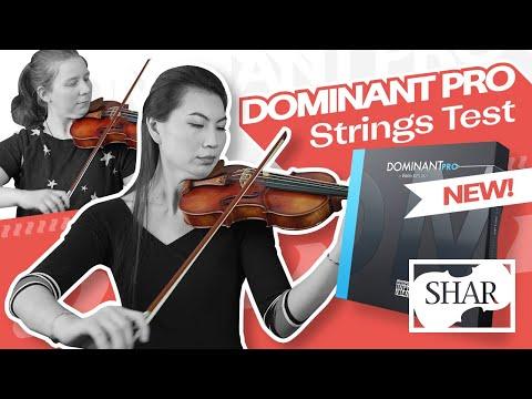 Dominant Pro violin strings vs. The World - Rondo, Evah Pirazzi, and more!