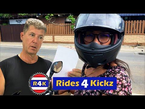 Today in Pattaya - Girlfriend Gets a Birthday Ride