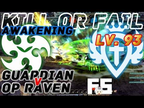 Dragon Nest PvP : OP Raven V Guardian Awakening (Post Cleric Nerf) KOF Lv. 93 KDN.