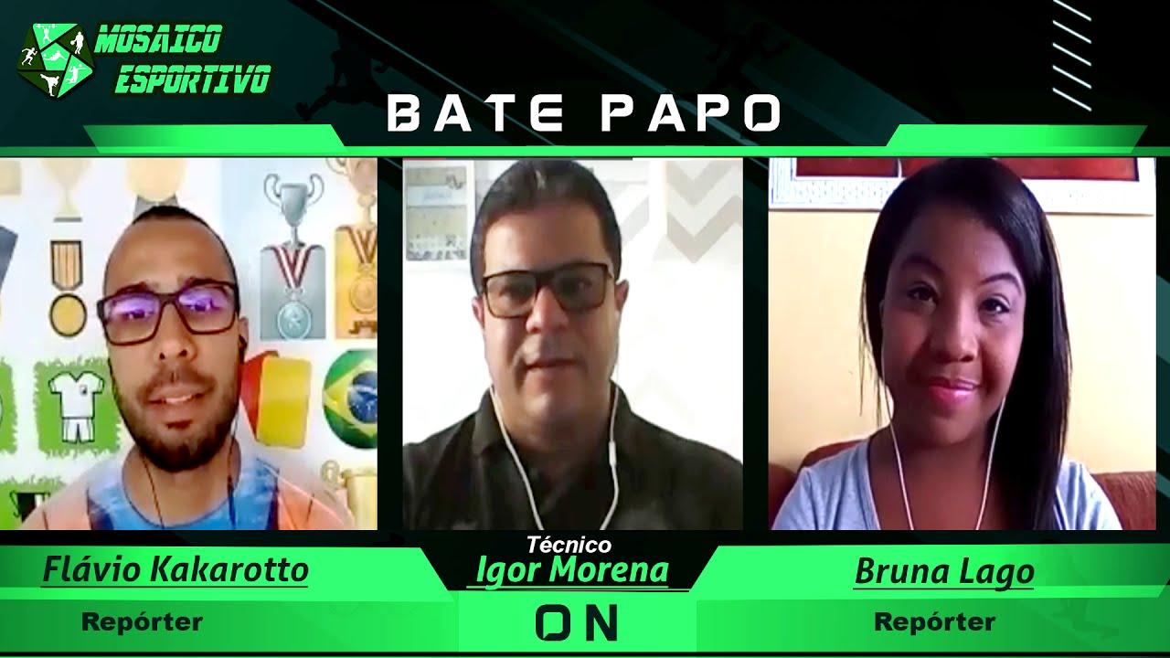 Entrevista com Igor Morena técnico do time de futebol feminino do Esporte Clube Bahia