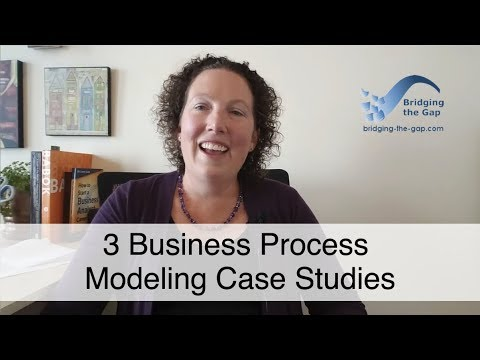 3 Business Process Modeling Case Studies