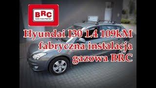 Hyundai I30 1.4 109kM na fabrycznej instalacji gazowej BRC od ARG Auto Gaz Łódź
