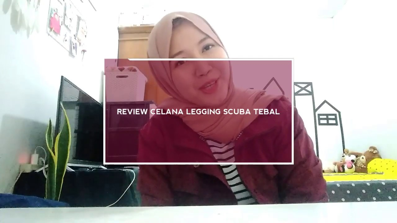 Review Celana Legging Scuba Tebal Youtube