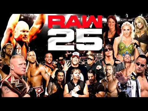 Ranking The Top 25 Greatest WWE Matches In Monday Night RAW History!