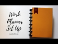 Work Planner Set Up