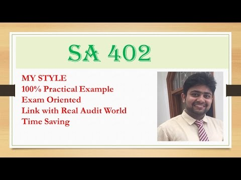 audit assignment on sa620