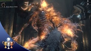 Bloodborne Laurence the First Vicar - The Old Hunters DLC Boss (Beast