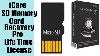 iCare SD Memory Card Recovery Pro Life Time License!