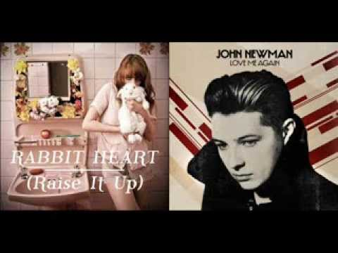 John Newman vs. Florence + the Machine - Love me Again/Rabbit Heart
