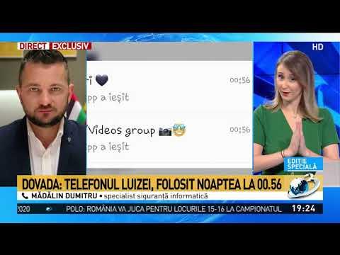 Informații-șoc despre apariția Luizei pe Whatsapp: Era telefonul și cartela utilizatorului. Oper