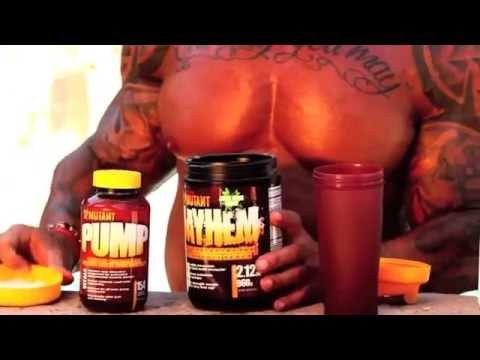 SERIES ONE Ep# 5  MUTANT PUMP with SUPERMUTANT Rich Piana