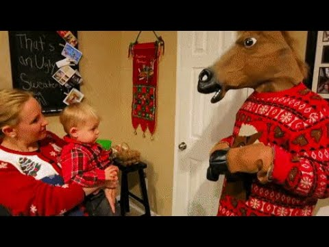 Funniest Christmas Kids - Funny Christmas Tree and Santa Claus Fails