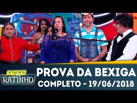 Prova Da Bexiga - Completo | Programa Do Ratinho (19/06/2018)