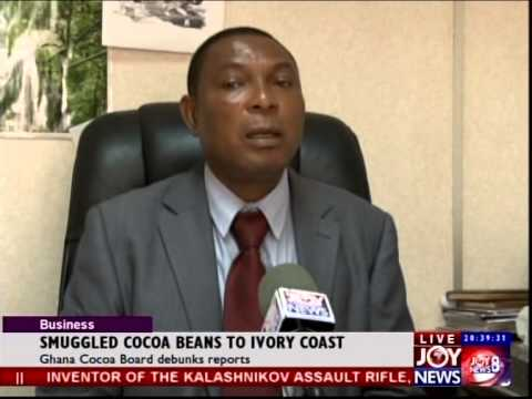 Smuggled Cocoa Beans To Ivory Coast