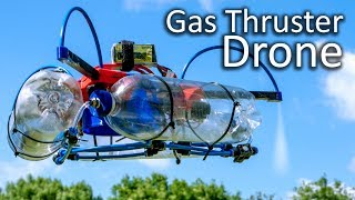 Gas Thruster Controlled Drone