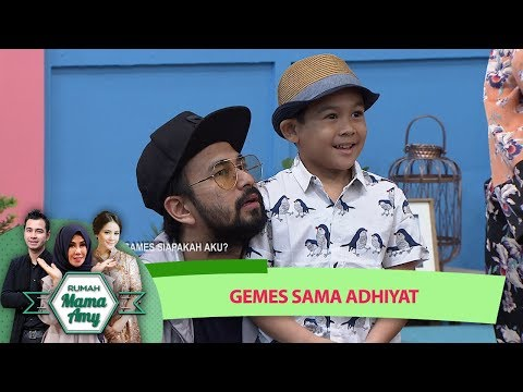 MESH MESH GEMES! Raffi Ahmad GEMEZ Sama Adhiyat - Rumah Mama Amy (12/7)