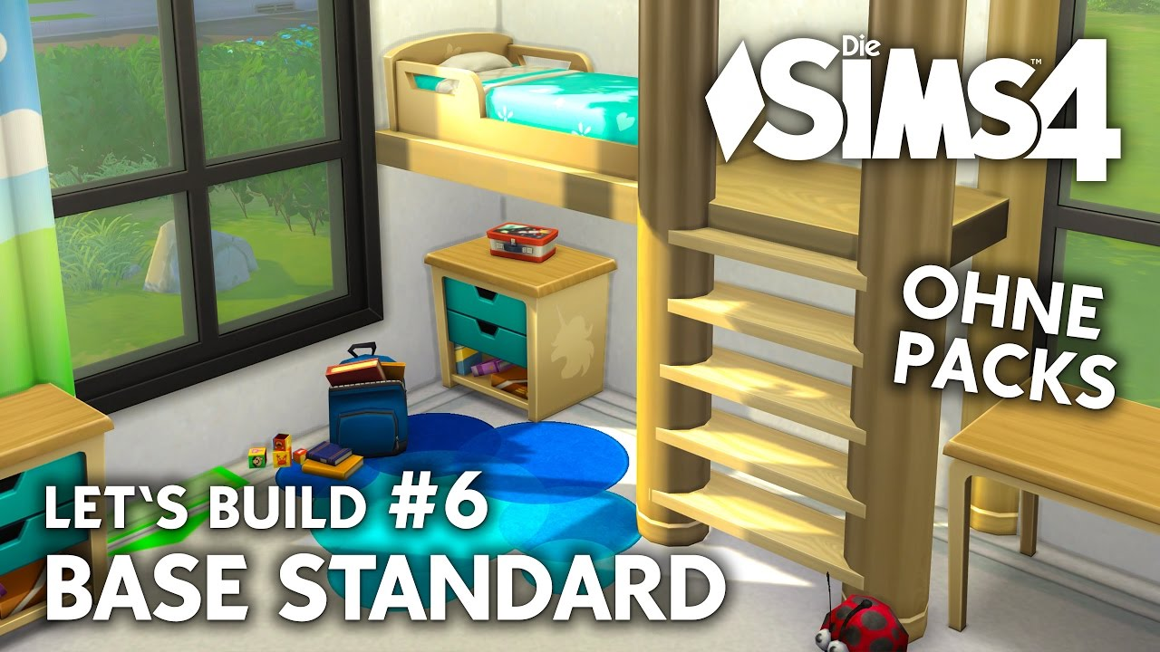 Die Sims 4 Haus Bauen Ohne Packs Base Standard 6 Let S Build