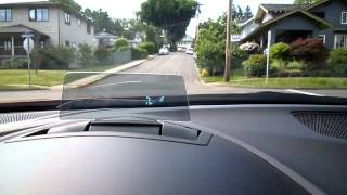 Mazda3 Head-Up Display in Action