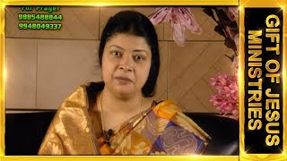 Dr.J.Preetha Judson Telugu Message Topic : God's Blessing.