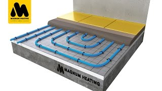 MAGNUM Tube - Installatie op Tackerplaten