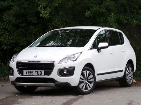 2015 peugeot 3008 1.6 hdi active 5dr in bianca white - youtube
