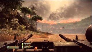 Battlefield Bad Company 2 Vietnam - Hill 137 rush attacker