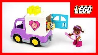 玩樂高積木 小醫師大玩偶 麥芬醫生 救護車 大家來看診 玩具開箱 thumbnail