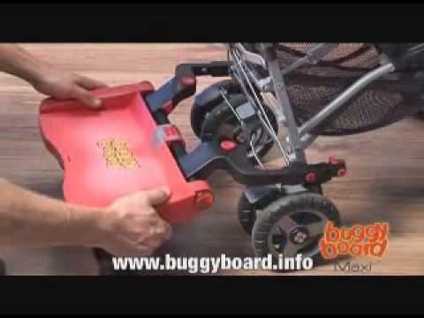 Lascal Buggy Board Video Demo Pramworld