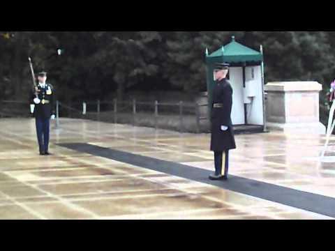 Cambio de Guardia Cementerio Nacional de Arlington (Washington DC)