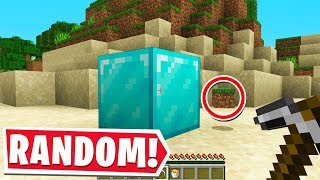 MINECRAFT BUT EVERY DROP IS RANDOM.. again (Part 2)