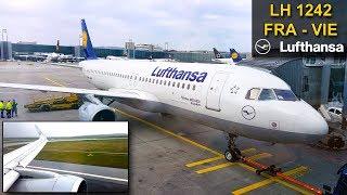 TRIP REPORT | Lufthansa | FRANKFURT - VIENNA | Airbus A320CEO Sharklets