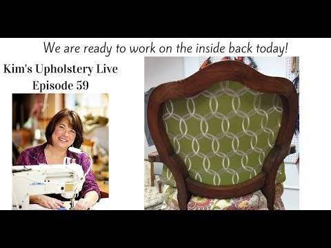 Kim's Upholstery Live Episode59