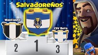 Final COPA SV   Salvadoreños campeón   Todos los ataques   Clash of Clans