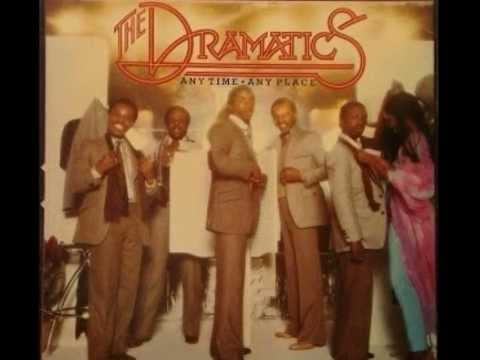 The Dramatics Any time Any place Album face 2