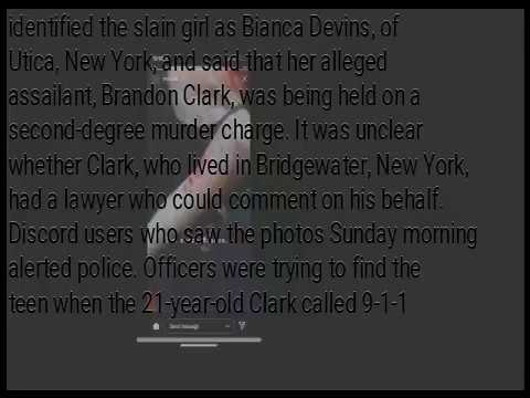 Bianca Devin's Shocking Murder Images