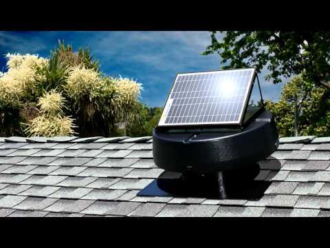 Solar Attic Fans from U.S. Sunlight Corp -- CA