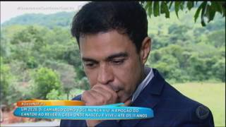 Zezé Di Camargo Se Emociona Ao Rever A Casa Onde Nasceu