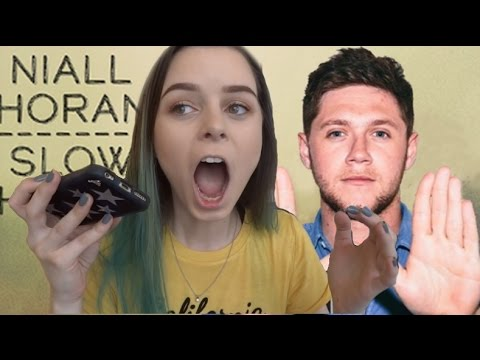 NIALL HORAN SLOW HANDS REACTION