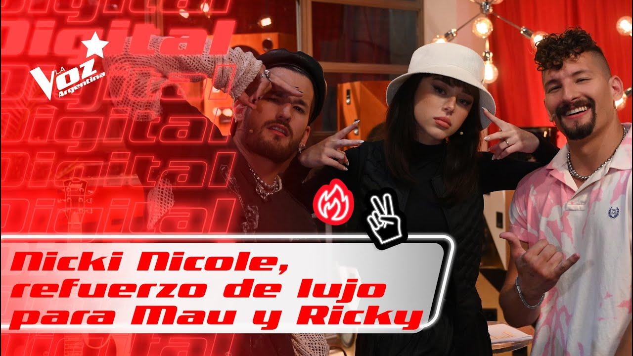 NICKI NICOLE Y MAU Y RICKY, equipo de lujo junto a STEFI ROITMAN - La Voz Argentina