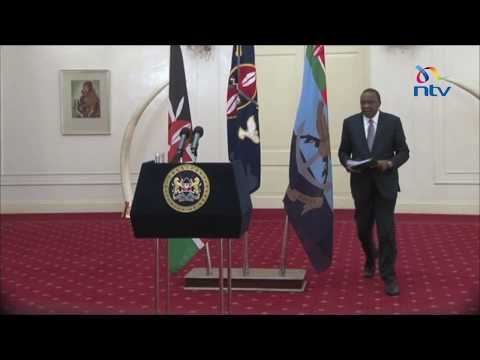 President misses devolution meeting due to bad weather; opens ceremony via video link